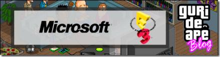 Guri de Apê - E3 2009 - Conferência da Microsoft